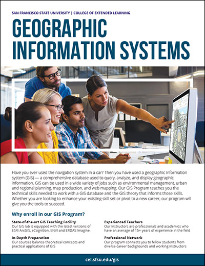 Geographic Information Systems Brochure (PDF)