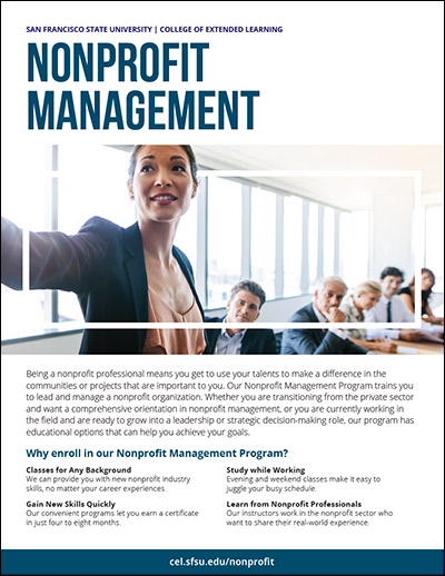 Nonprofit Management Brochure (PDF)