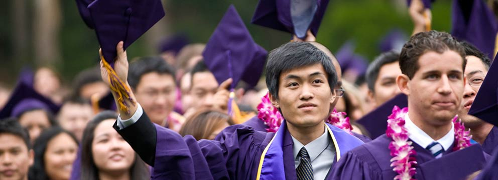 SF State graduate raises his cap