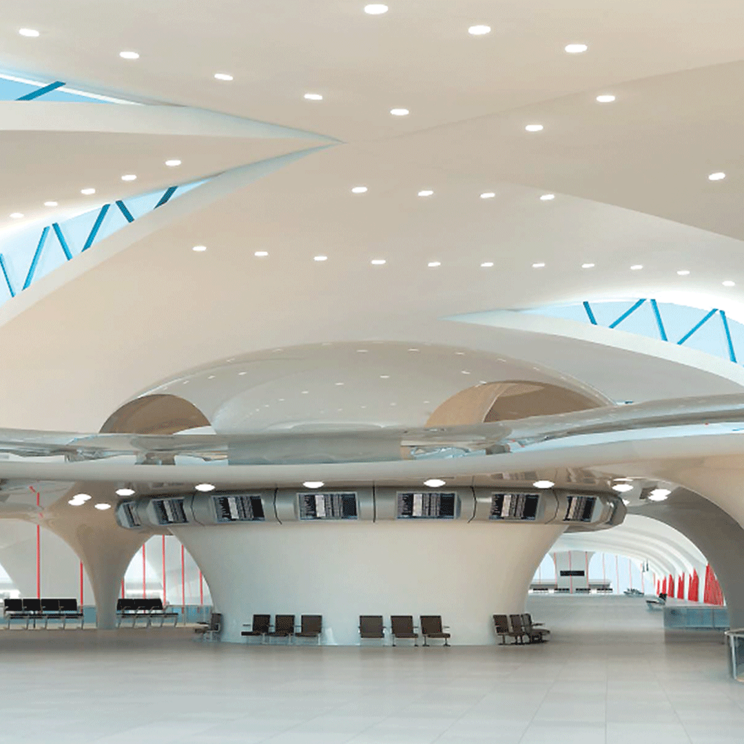 Airport designed with Autodesk