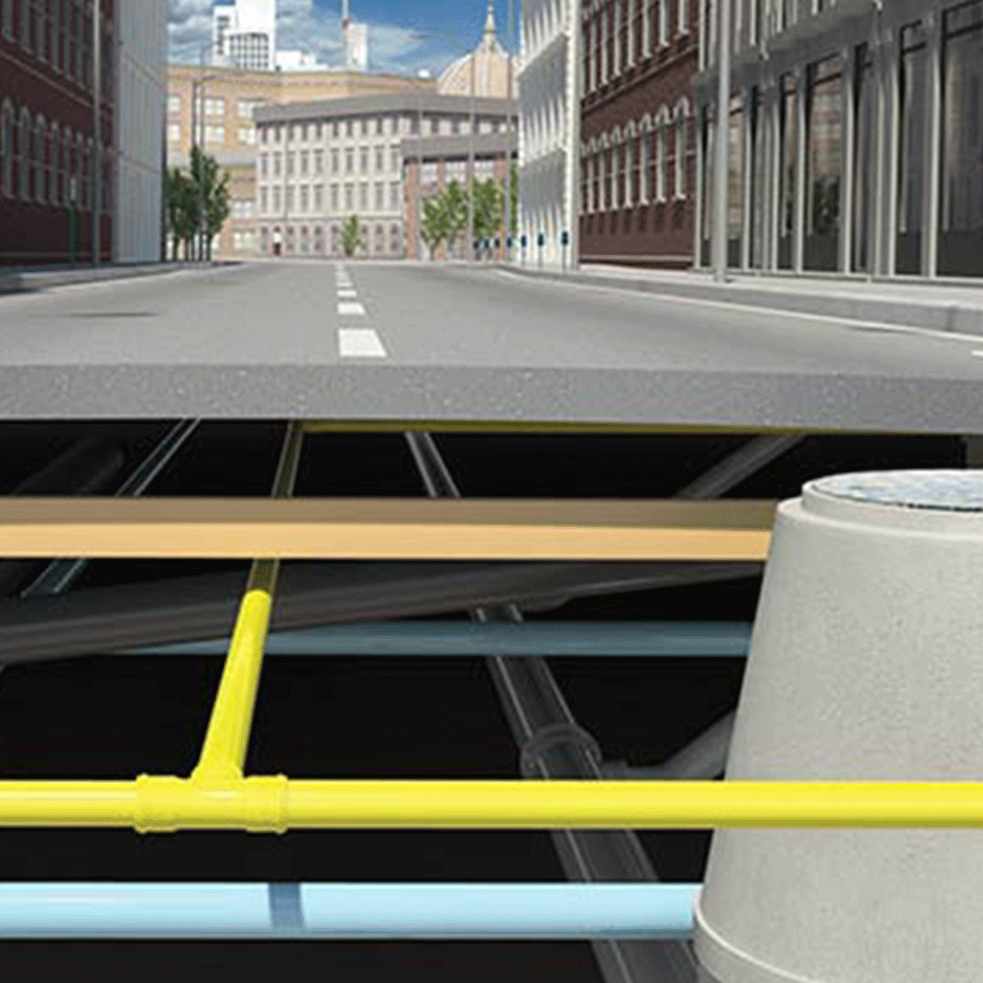 Underground infrastructure designed with Autodesk