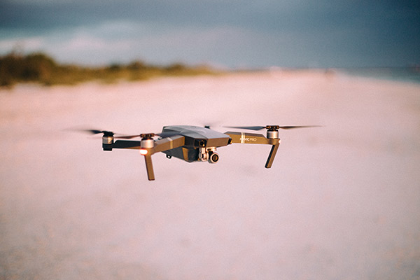 Aerial photography and mapping drone