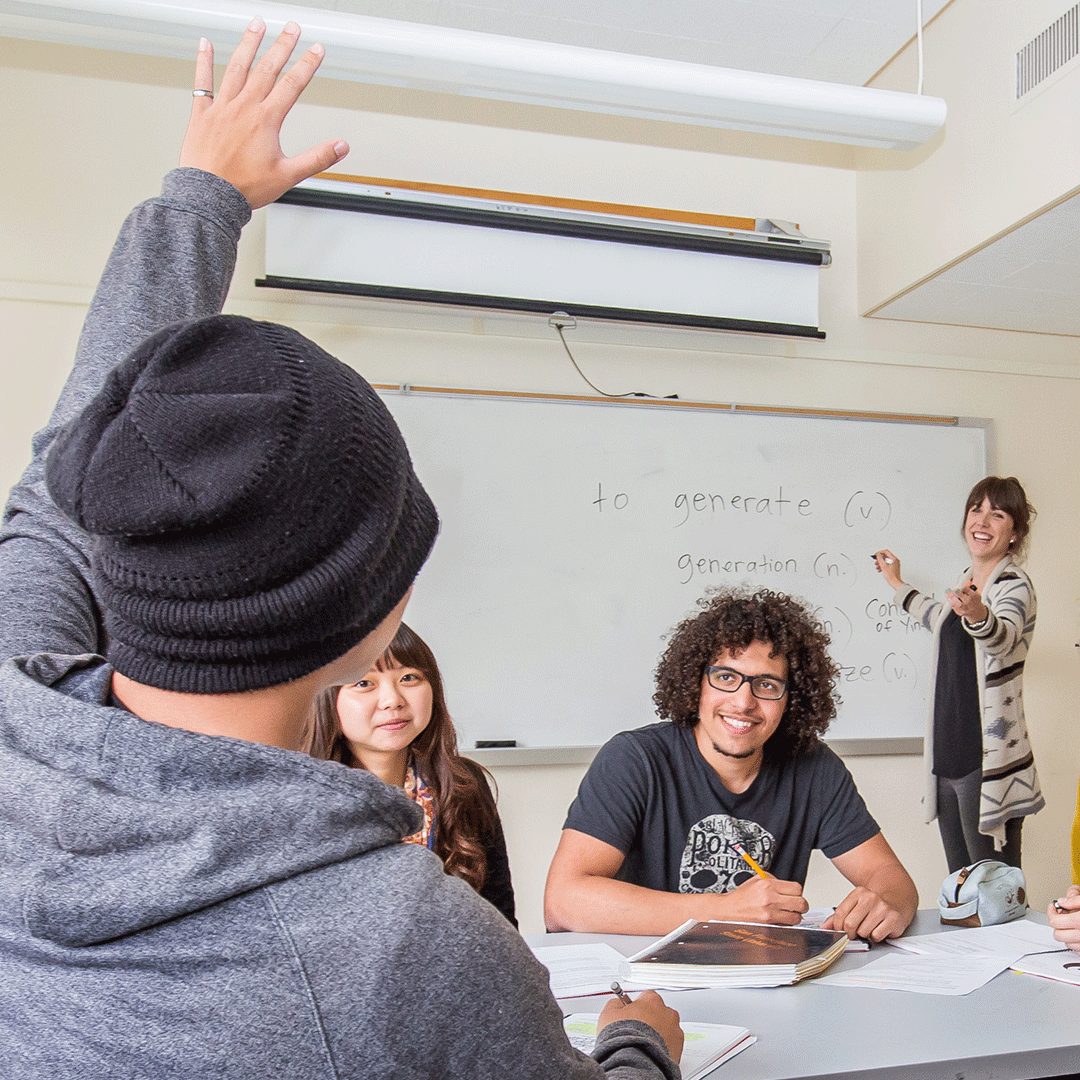 English for Academic Preparation students in class at San Francisco State University