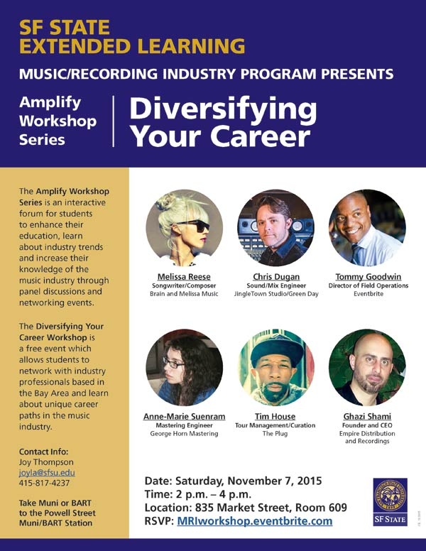 Amplify Workshop Series: Diversify Your Career