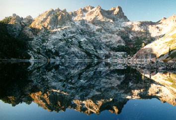 Photo: Sierra Nevada Lake Reflection